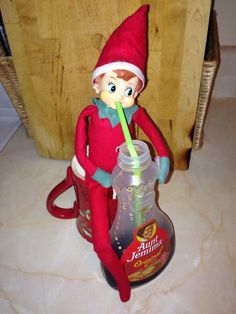 Elf on the shelf #Yummy