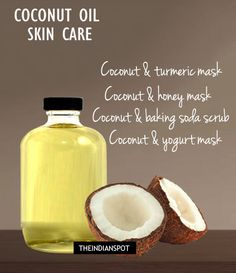 Coconut Oil Skin Care – Face Mask And Scrub Recipes – Coconut oil is very good for our health, skin, face and hair. It is rich in antioxidants and healthy acids like caprylic, capric, lauric and mystiric acid. READ MORE >> COCONUT OIL FOR WRINKLES – Co Coconut Oil For Acne, Coconut Oil Uses, Benefits Of Coconut Oil, Baking Soda Scrub, Diy Beauté, Homemade Scrub, Oils For Skin, Skin Care Tips, Diys