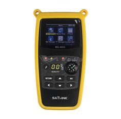 R&L LUXURY:WS-6933 DVB-S2 FTA C&KU Band Satellite Finder Meter satlink 6933 WS6933 with 2.1 Inch LCD Display