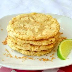 Coconut Lime Chewy Sugar Cookies - next week is Cookie Week On Rock Recipes with a new cookie recipe every day! We have even more great ways to help you get a jump on your Holiday baking this year and are adding to our collection of over 100 great cookie recipes.