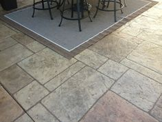 Stamped Concrete, Tile Floor, Flooring, Crafts, Home Decor, Homemade Home Decor, Manualidades, Tile Flooring, Hardwood Floor