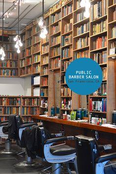 Public Barber Salon / North Beach / San Francisco, CA