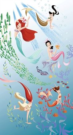 The Little Mermaids...