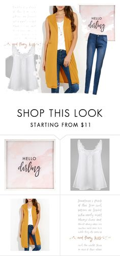 """Untitled #271"" by kristina779 ❤ liked on Polyvore featuring Hello Darling"