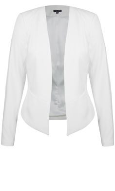 City Chic - MISS SOPHISTICATED JACKET - Women's Plus Size Fashion