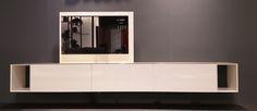 hanging Cabinet, model Capri. Presented at the Brussel furniture fair in Belgium november 2017. www.leftlabel.nl