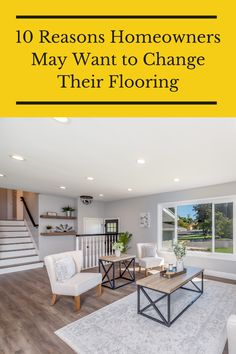 Whether there is water damage or stains, here are the ten reasons why homeowners may want to change their flooring. Flooring 101, Floors, Water Damage, May, Stains, Change, Home Tiles, Flats, Floor