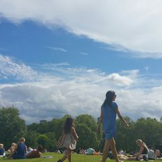Sunshine in green park