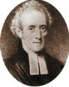 Jane's favorite brother Henry Austen in later life after he took holy orders