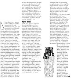 Tessa aan de Stegge in Elle Magazine
