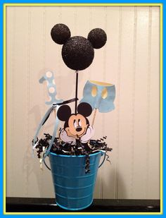 Baby Mickey Theme Decoration by eryacah on Etsy, $10.00