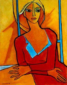 PINTORES LATINOAMERICANOS-JUAN CARLOS BOVERI: Pintores Costarricenses: CÉSAR VALVERDE