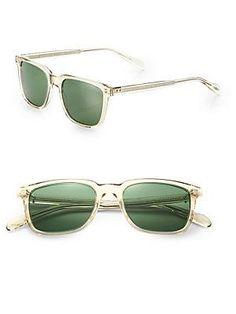 Oliver Peoples NDG Sun 50MM Acetate Sunglasses - Light-Yellow