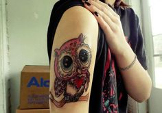 owl tattoo for women | 46 Cute Tattoos You Should Check Today | CreativeFan