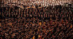 Concierto del 40 aniversario del sistema de Orquestas y Coros Juveniles e Infantiles de Venezuela. Director: Gustavo Dudamel.