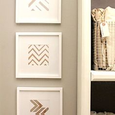 Want a 15 minute project to dress up your walls? Here are 4 easy steps using the Krylon Metallic line to create sprayed art!  Posted by Home Made by Carmona