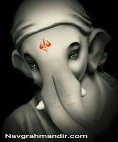 Om gan ganpatye namah ऊं गँ गणपतये नमः Shree Navgrah Mandir Khargone http:// www.navgrahmandir.com /
