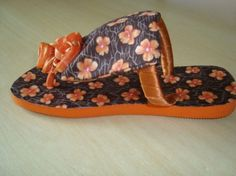 blog da aninha claro: chinelo decorado