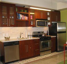 Kitchen Design One Wall