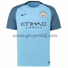 maillot de foot Premier League Manchester City 2016-17 maillot domicile