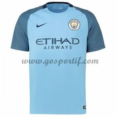 maillot de foot Premier League Manchester City 2016-17 maillot domicile