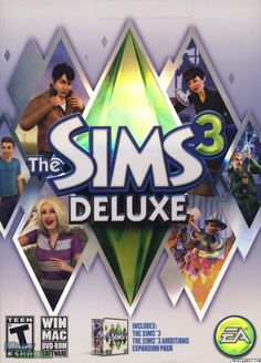 sim 3 covers | The Sims 3 Deluxe (2010) Macintosh cover art - MobyGames