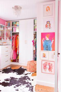 Preppy Bedroom, Bedroom Decor, Sala Glam, Girls Dressing Room, Tiffany Pratt, California Closets, Glam Room, Room Goals, My New Room