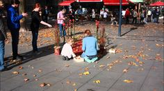 Floral StreetArt: Großer Auftritt in Dortmund