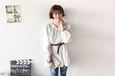 white blouse (39,000원)
