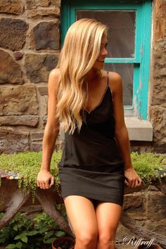This LBD with gold beaded detail is your new favorite party dress.