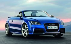 Audi Blue wallpaper