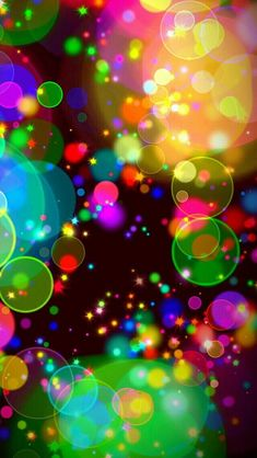 By Artist Unknown. Bubbles Wallpaper, Rainbow Wallpaper, Love Wallpaper, Colorful Wallpaper, Screen Wallpaper, Pattern Wallpaper, Colorful Backgrounds, Best Photo Background, Background Pictures
