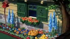 I like a full and sharp border Cartoon Tv, Classic Cartoons, Disney, Flowers, Decor, Collection, Dekoration, Decoration, Flower