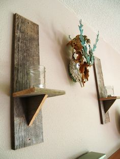 so easy - these could be perfect for my stair way or elsewhere; could use old floorboards to do it