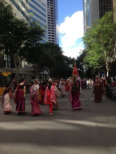 Wonderful Rathayatra in Brisbane CBD. (Album with photos) Sri Prahlad led the kirtan which was ecstatic and then we had the main festival in King Georges' square which was lovely. I did Gita …
