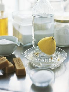 Homemade Cleaning Recipes --> http://www.hgtv.com/homekeeping/clean-green-and-frugal-homemade-cleaning-recipes/index.html?soc=pinterest