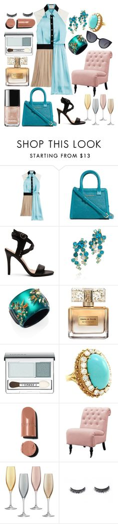 """""""Life's not symmetrical"""" by pulseofthematter ❤ liked on Polyvore featuring FAUSTO PUGLISI, Vera Bradley, Joe's Jeans, Alexis Bittar, Givenchy, Clinique, Home Decorators Collection, LSA International and Fendi"""