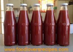 Jello Recipes, Canning Recipes, Sauce Recipes, Recipies, Homemade Tomato Sauce, Tomatoe Sauce, Canning Vegetables, Sweet Chilli Sauce, Homemade Pickles