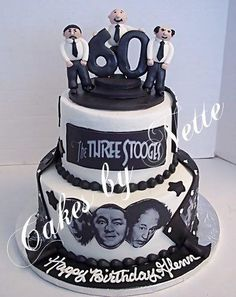 Three Stooges Cake, Cakes By Nette