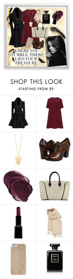 """""""Untitled 35"""" by chanelaine11 ❤ liked on Polyvore featuring beauty, Manon Baptiste, Gorjana, Frye, Louis Vuitton, Giorgio Armani, Hermès, Michael Kors, Chanel and Mineheart"""