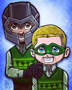 Diggle and Oliver   Lord Mesa Art
