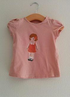 Tee-shirt manches courtes Bout'chou (Monoprix) - 12 mois