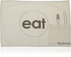 Podkładka Eat biała - BelleMaison.pl
