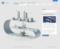 GE Energy Redesign by Material Group, via Behance