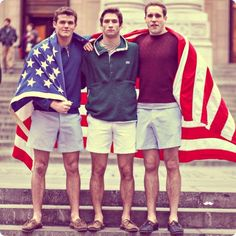 Style on point, feeling very patriotic.