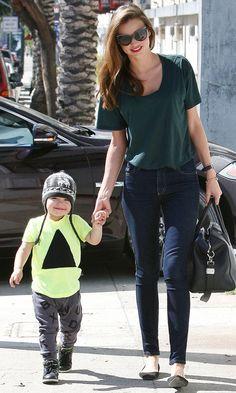Miranda Kerr And Flynn Bloom Out In LA, 2013.