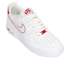 Nike Air force 1 White/ Red
