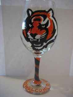 Cincinnati Bengals Welcome to the jungle hand by 2blondesandbling, $20.00