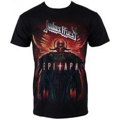 Judas Priest: Epitaph Jumbo (tricou) Metal Fashion, Judas Priest, Metalhead, Mens Tops, T Shirt, Supreme T Shirt, Metallic Fashion, Tee Shirt, Tee