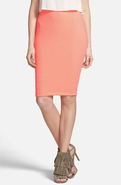 ASTR Textured Midi Skirt | Nordstrom